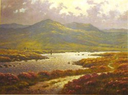 Rannoch Moor by James Preston - Limited Edition on Paper sized 13x10 inches. Available from Whitewall Galleries